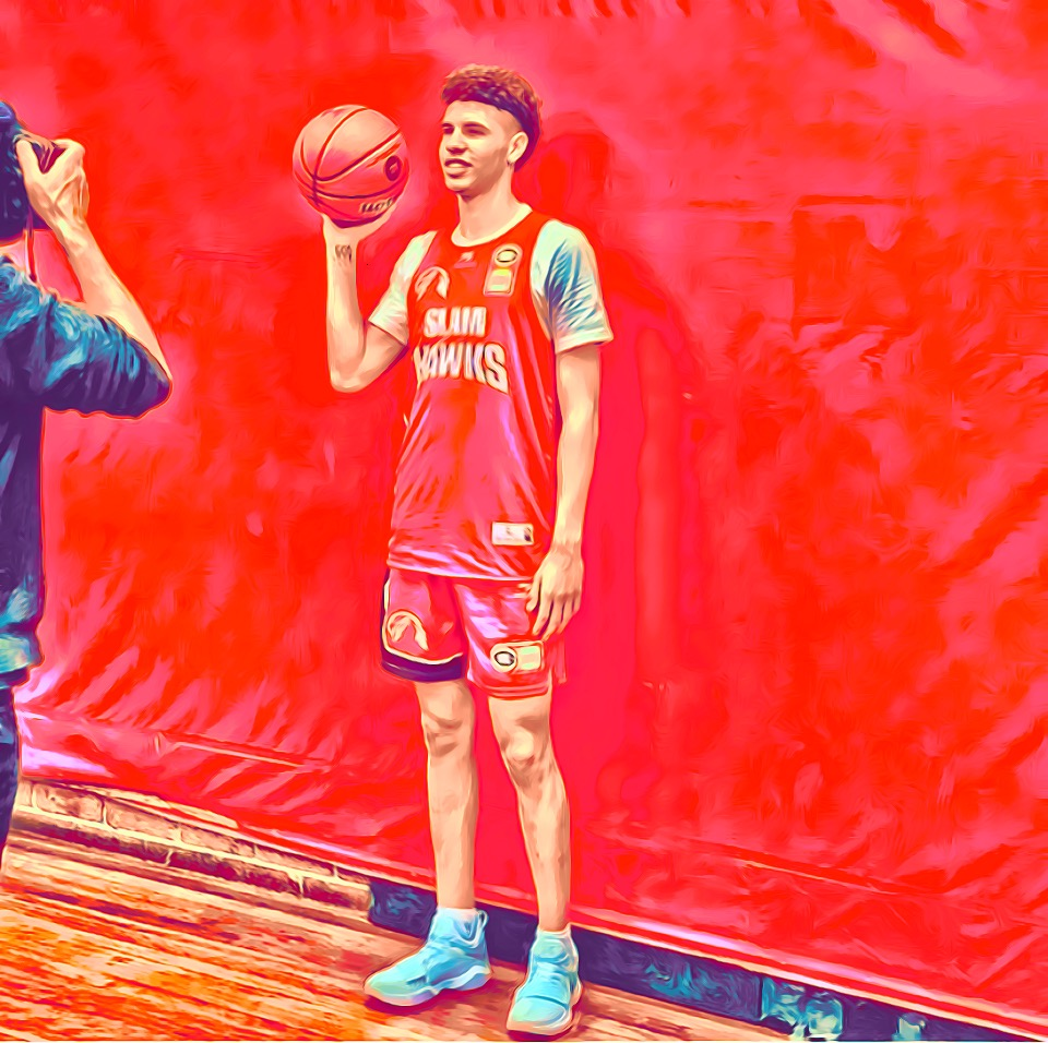 Lamelo Ball the future of the NBA.