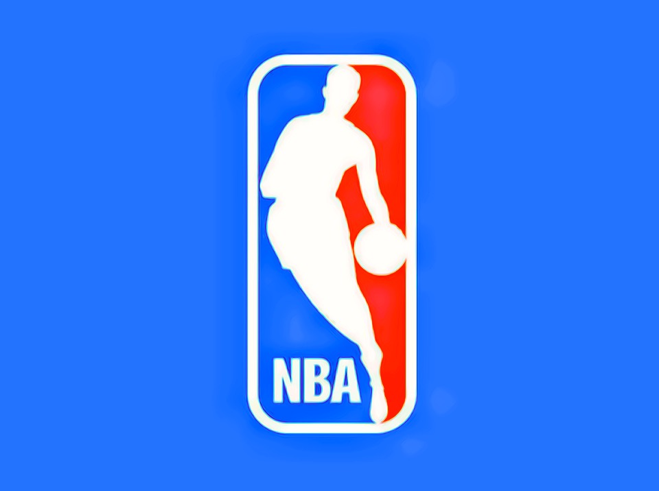 The NBA logo.