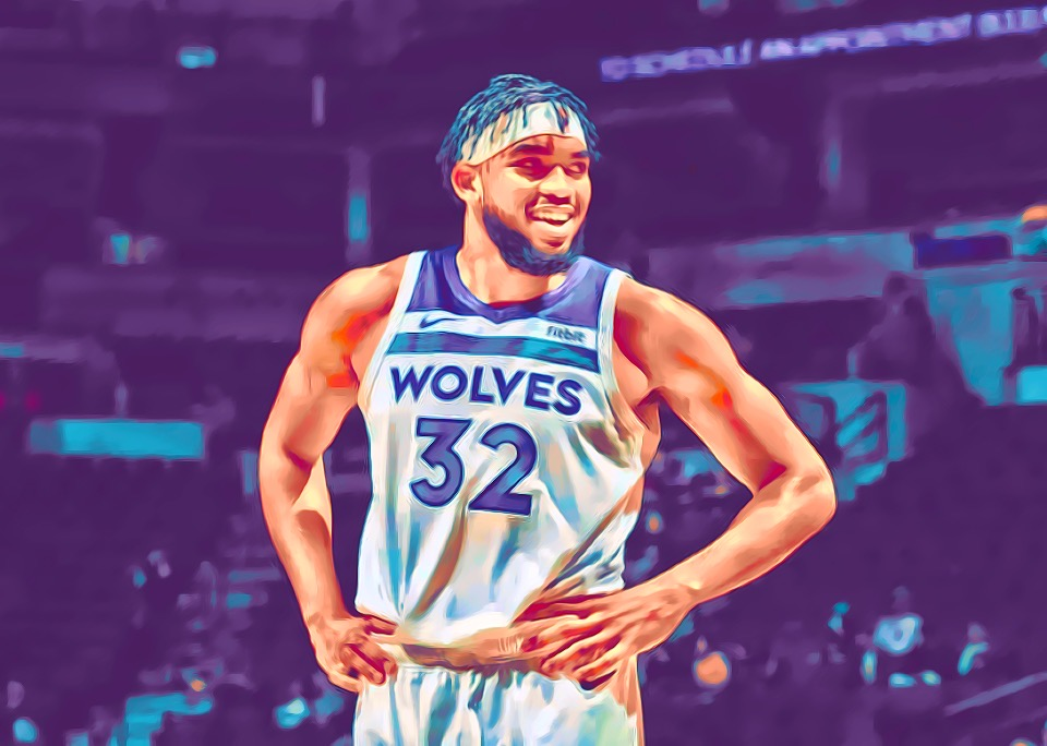 Karl Anthony-Towns delivering on his potential.