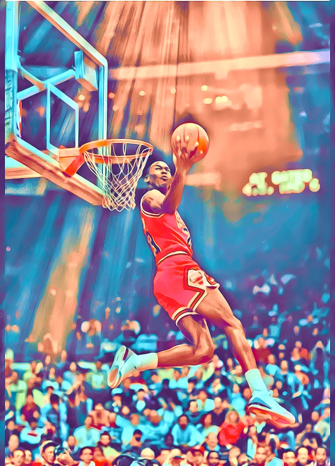 Michael Jordan, his airness.