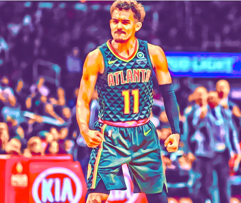 Trae Young NBA sophmore superstar.